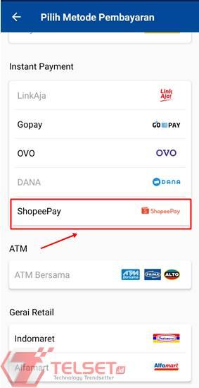 Bayar Tiket Bus Damri ShopeePay