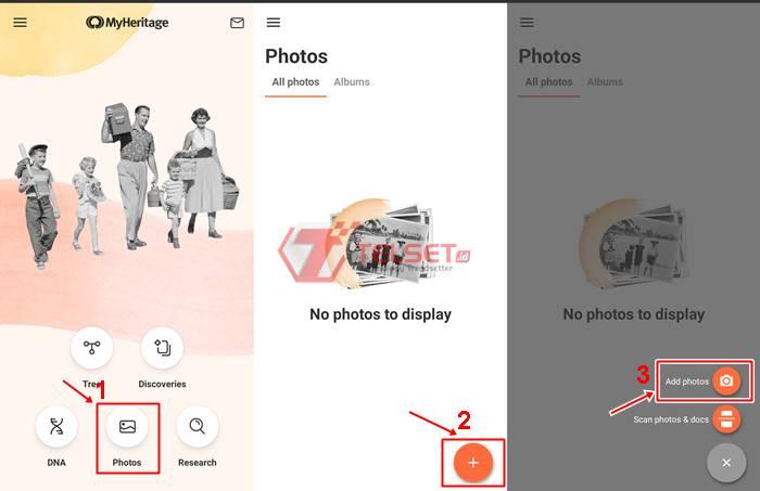 Cara Download dan Edit Foto Jadul MyHeritage