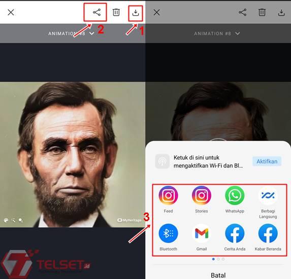 Cara download edit foto jadul MyHeritage