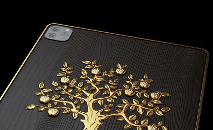Caviar iPad Pro Diamond Apple
