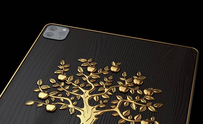 Caviar iPad Pro Golden Apple