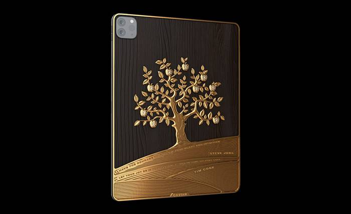 Caviar Jual iPad Pro Berbalut Emas 1 kg, Harganya Rp 2,6 Miliar!