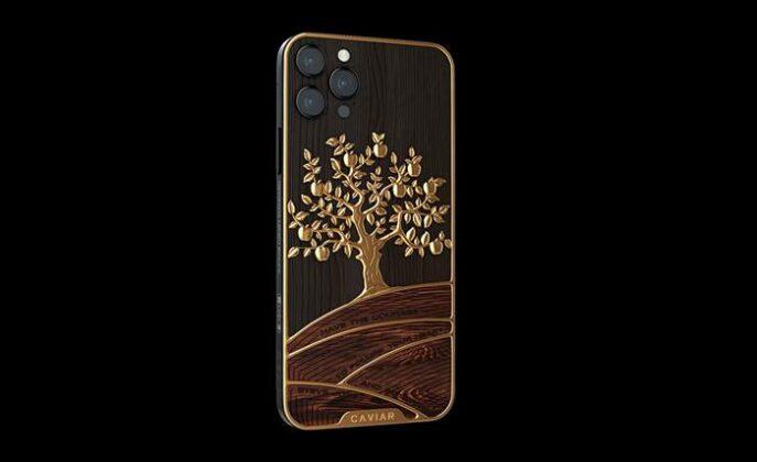 Caviar iPhone Golden Apple
