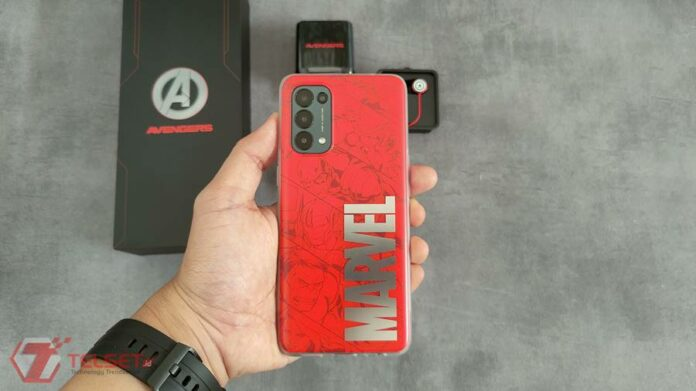 Filter Instagram Oppo Reno5 Marvel Avengers Edition