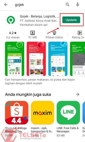 Aplikasi Gojek GoMart Bulog