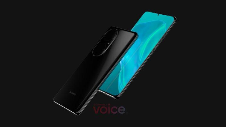 Foto Huawei P50 Bocor, Punya Empat Kamera dan Harmony OS