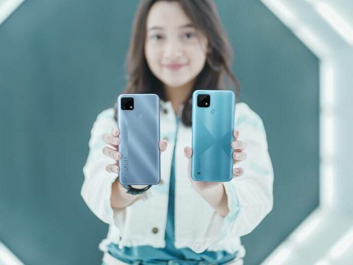 Perbandingan Realme C25 C21 Indonesia