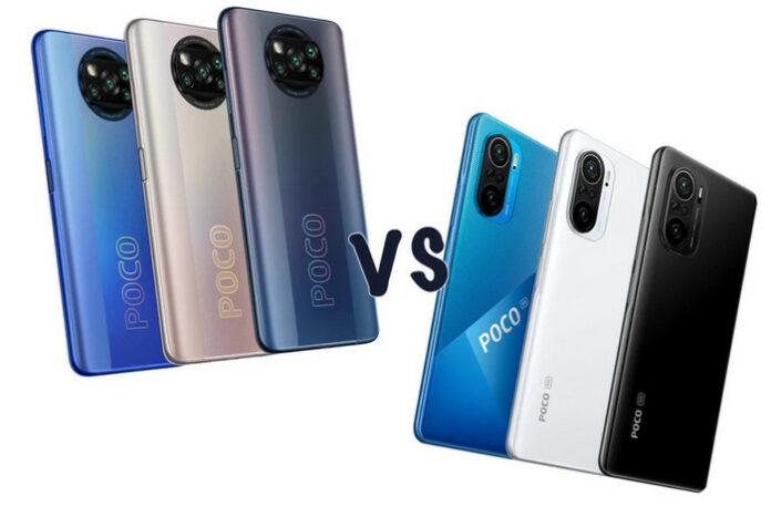 Poco X3 Pro vs Poco F3