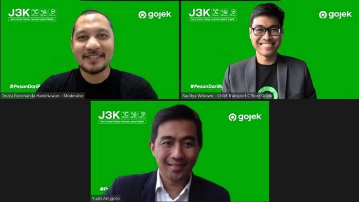 Gaungkan Prokes J3K, Gojek Bikin Gerakan #PesanDariRumah