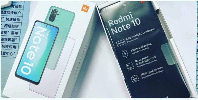 Spesifikasi Redmi Note 10
