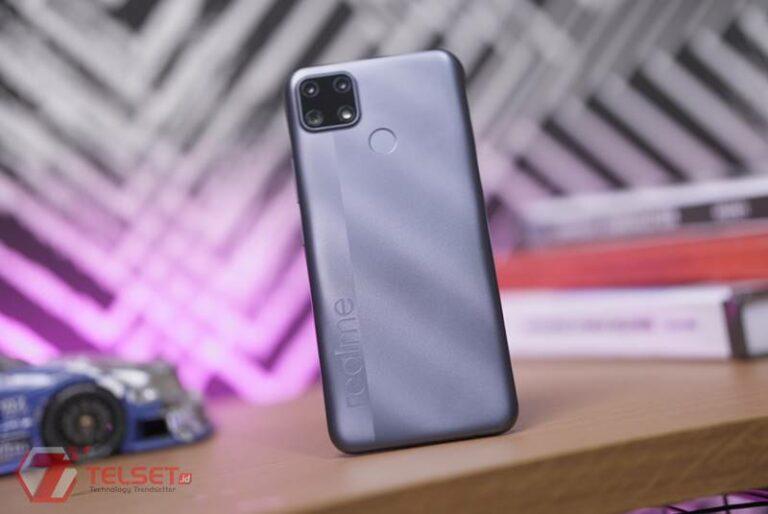 Smartphone Entry Tahan Banting Tiba di Indonesia, Realme C25