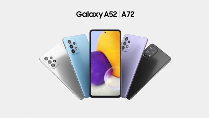 Samsung galaxy A52 vs Samsung Galaxy A72