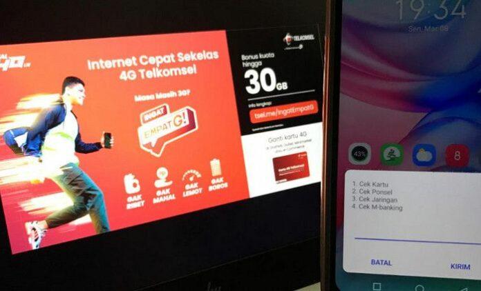 Pelanggan 4G Telkomsel