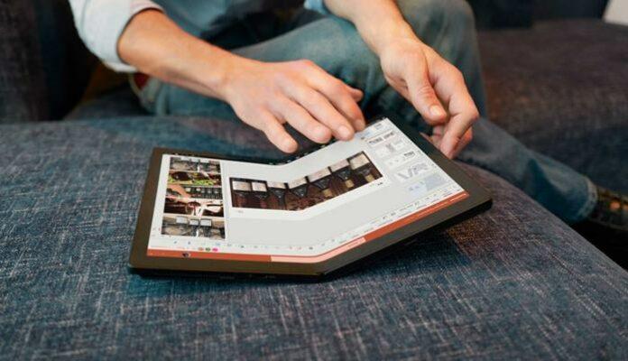 Laptop Layar Lipat Lenovo ThinkPad X1 Fold Indonesia