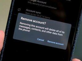 Cara menghapus akun Google HP Android