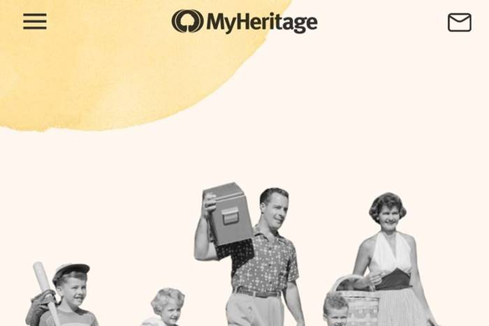 cara download edit foto aplikasi MyHeritage