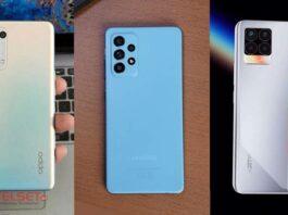 Perbandingan Samsung Galaxy A52 Oppo Reno5 Realme 8 Pro