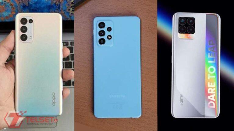 Perbandingan Samsung Galaxy A52, Oppo Reno5, dan Realme 8 Pro