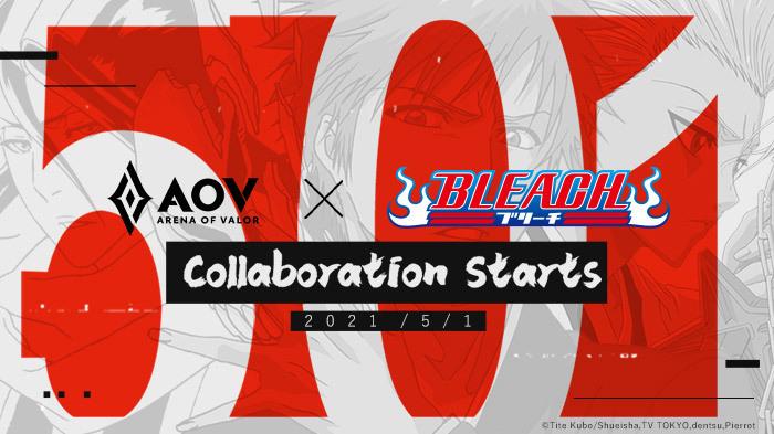 AOV Kolaborasi dengan Anime Bleach, Hadirkan Skin Eksklusif Ichigo