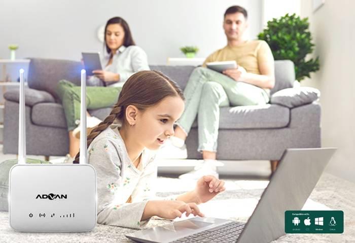 Advan Hadirkan CPE Router Start, Penuhi Kebutuhan Internet Rumah