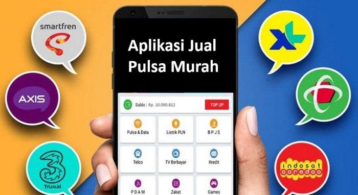 10 Aplikasi Jual Pulsa Murah 2021, Terbaik untuk Usaha di Rumah