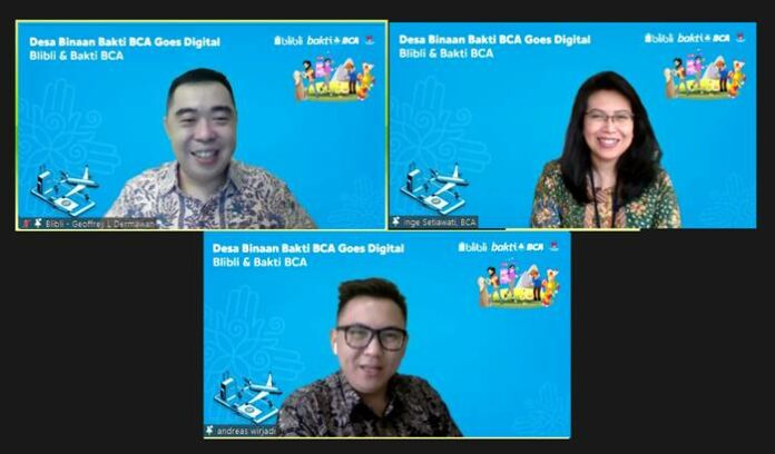 Desa Binaan Bakti BCA Goes Digital
