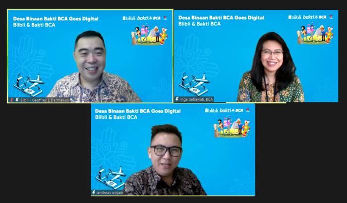 Blibli dan BCA Kolaborasi Bangun Desa Binaan Goes Digital