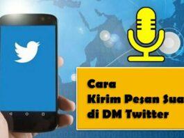 pesan suara DM Twitter