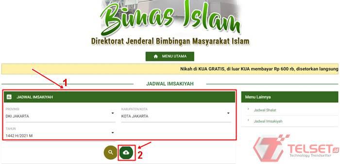 jadwal imsakiyah ramadhan 2021