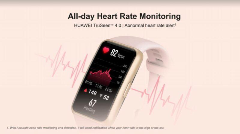 Fitur Huawei Band 6
