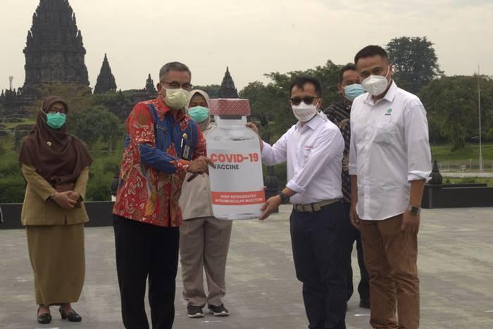 Gojek dan Halodoc Buka Layanan Vaksin Covid-19 di Candi Prambanan