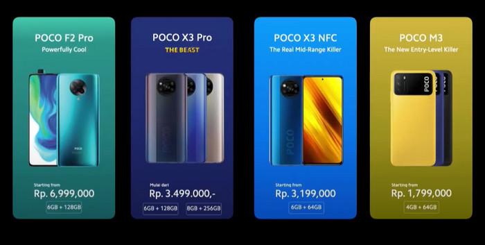 Harga Poco X3 Pro