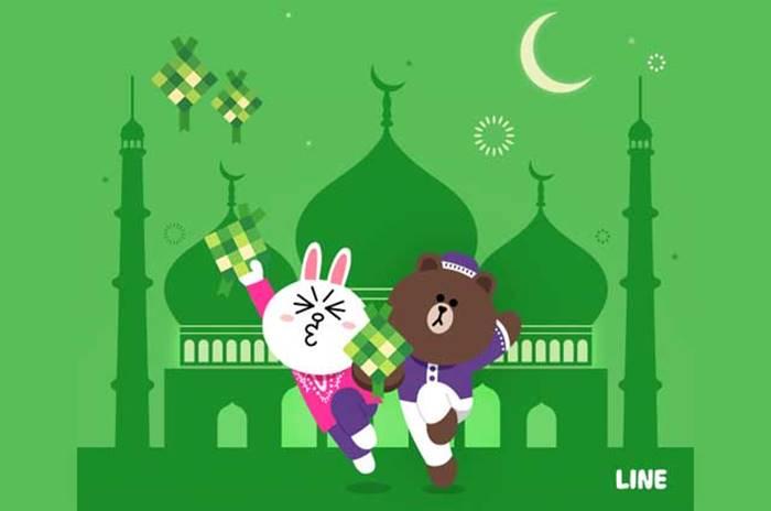 Line Hadirkan Ragam Fitur Spesial untuk Sambut Ramadan 2021