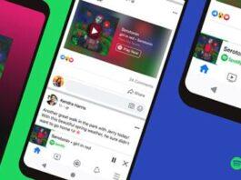 Fitur Spotify Miniplayer Facebook