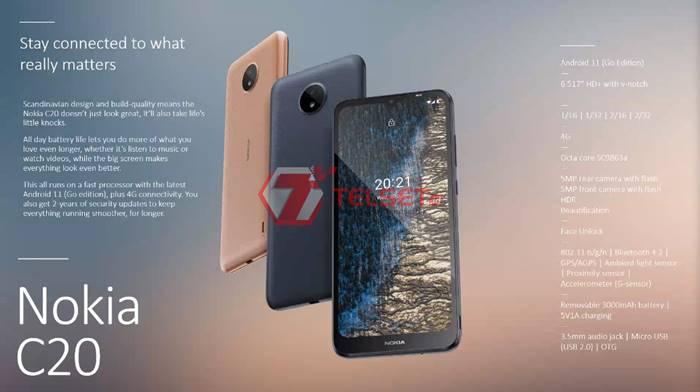 Nokia C20 Indonesia