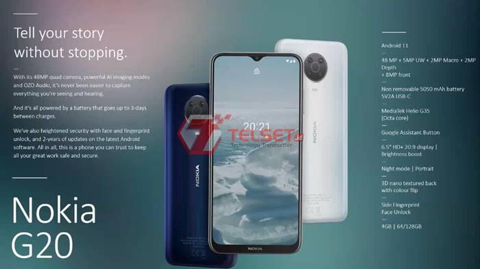Nokia G20 Indonesia