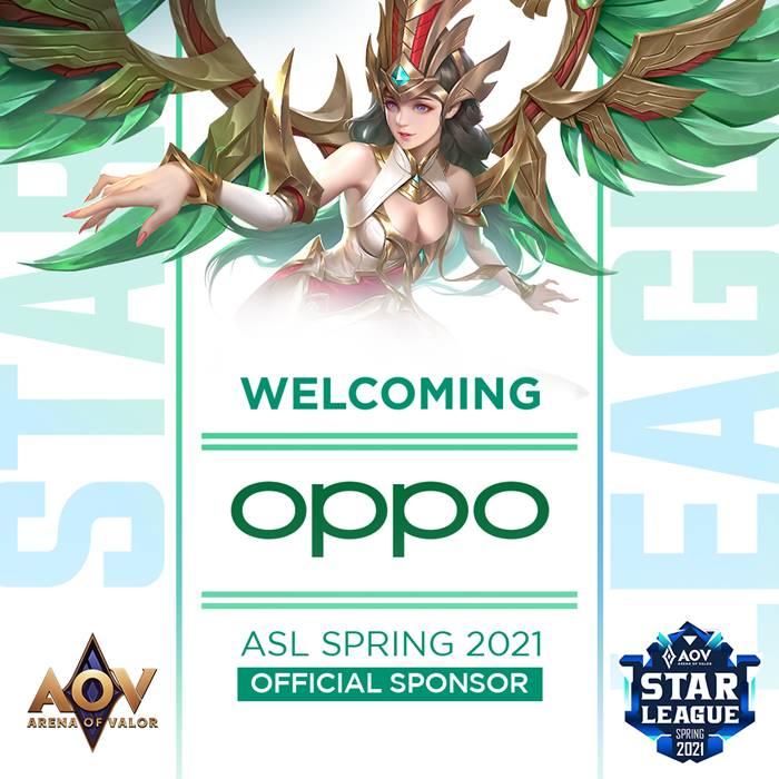 Oppo AOV Star League 2021 Spring