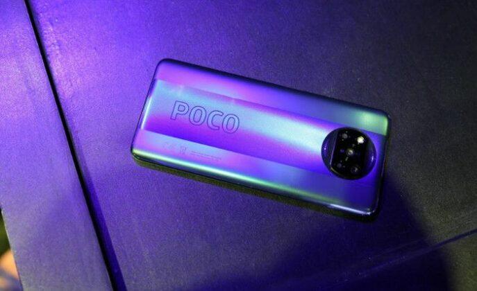 tampilan Poco X3 Pro