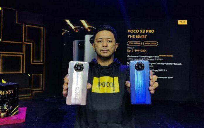 Poco X3 Pro hampir mirip poco x3 nfc