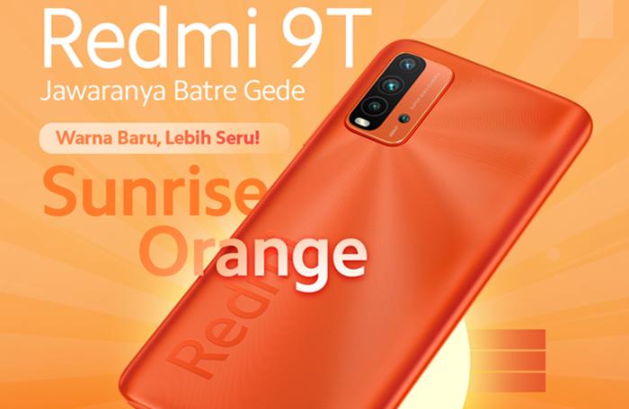 Redmi 9T Sunrise Orange Indonesia
