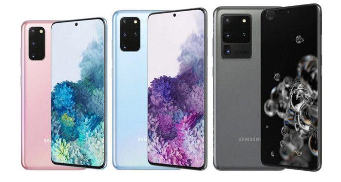 update Galaxy S20 Series