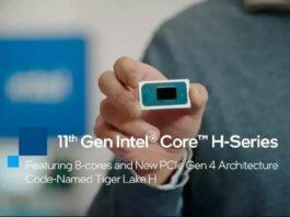 Intel Core Seri H Gen 11