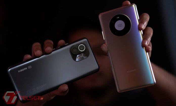 Perbandingan Xiaomi Mi 11 Huawei Mate 40 Pro