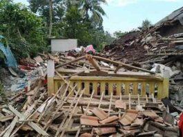 Gempa bumi susulan malang
