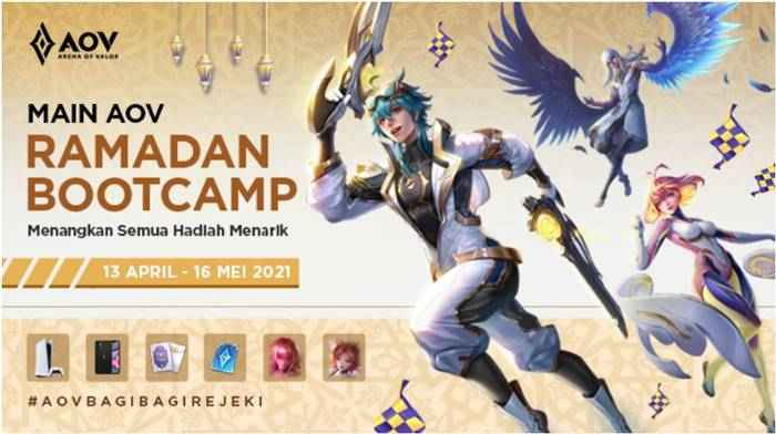 Event Hadiah Garena AOV COD Mobile Fairy Tale