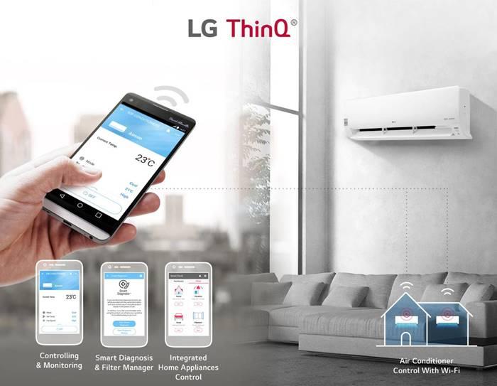 LG DualCool, AC Pintar Terbaru dengan Fitur Watt Control
