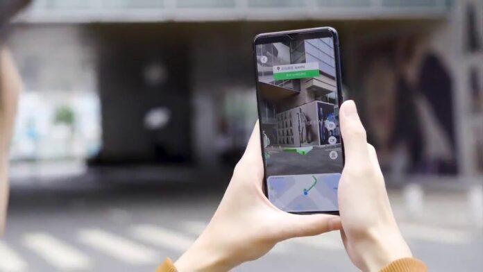 Aplikasi AR Oppo CybeReal