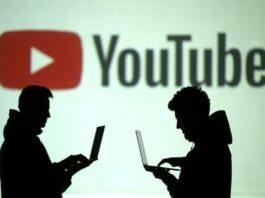 Aplikasi YouTube Down Tumbang
