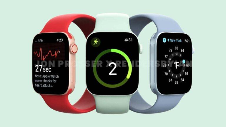 Bocoran Apple Watch Series 7, Desain Persegi dengan Warna Baru