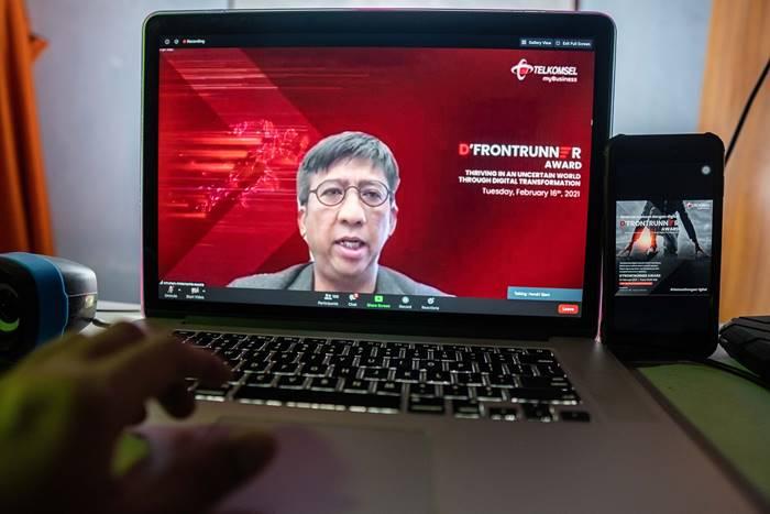 Dirut Telkomsel Hendri Mulya Syam